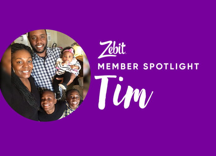 Member Spotlight: Strong father of 3 shares how he overcame financial struggles