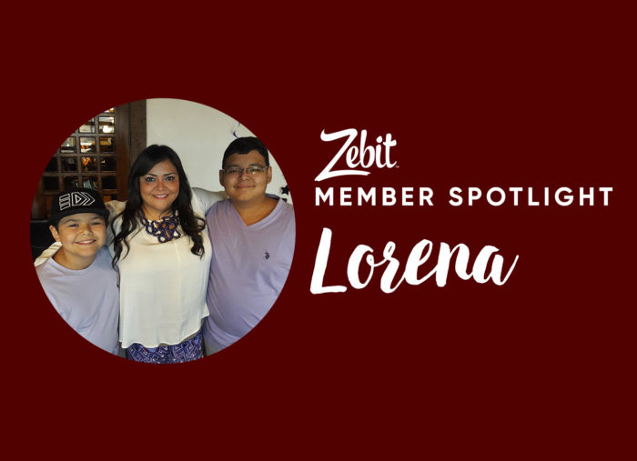 Member Spotlight: A single mom who uses Zebit to give back and help others