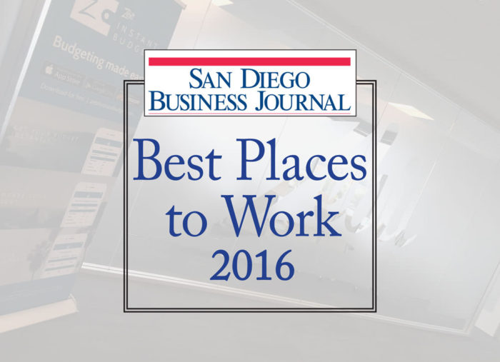Zebit Named One of the Best Places to Work by San Diego Business Journal