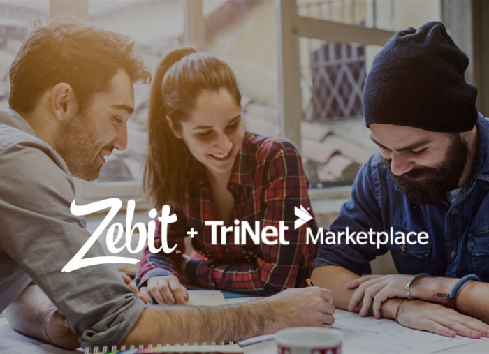 Zebit Launches Financial Wellness Benefit With No-cost Credit Offering On The TriNet Marketplace