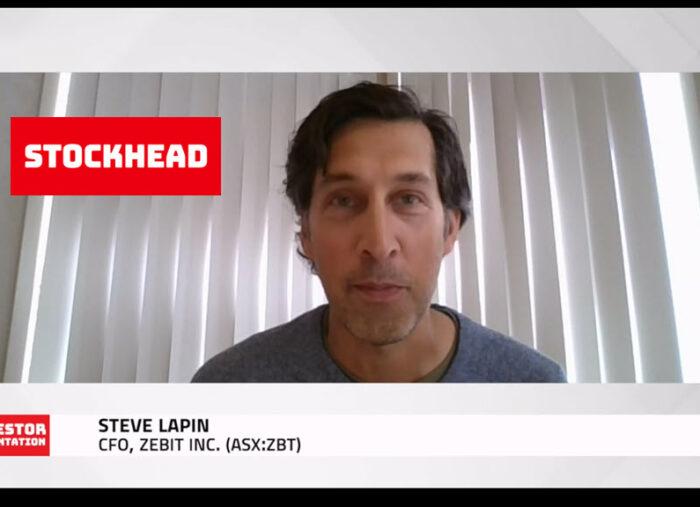 Steve Lapin's, CFO of Zebit, Presentation at Stockhead's V-Con
